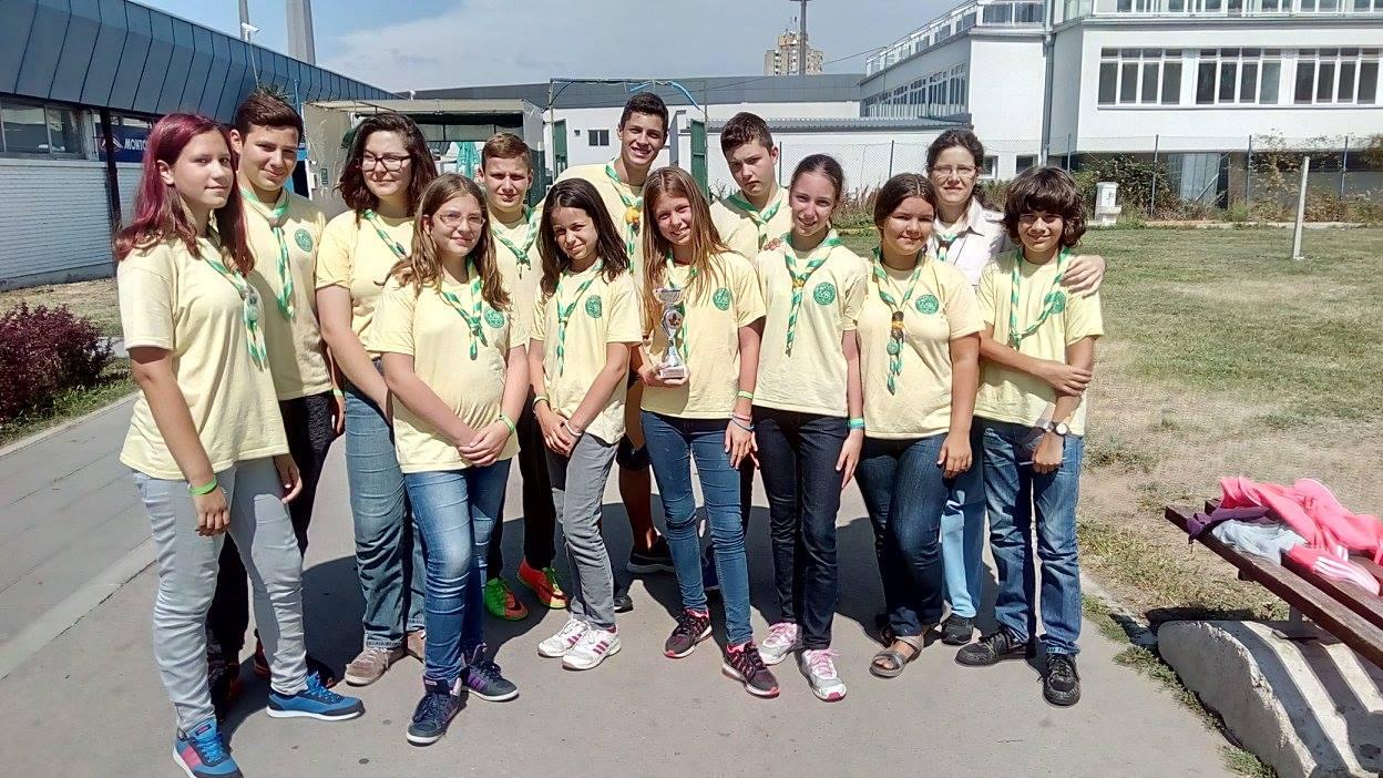 Извиђачке игре Србије 1-3.09.2017, треће место