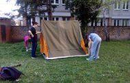 Вежбање брзог подизања и рушења шатора 2016.
