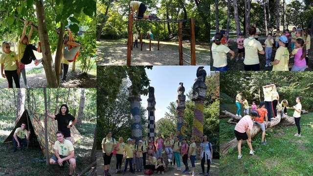 Излет у парк природе- Каменички парк 13.9.2020.